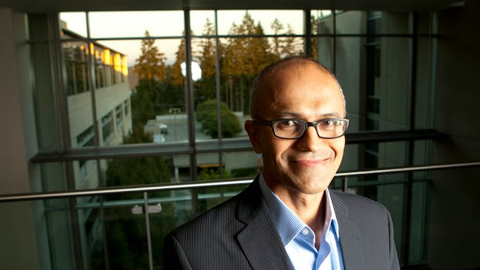 Microsoft CEO Satya Nadella Family Photos