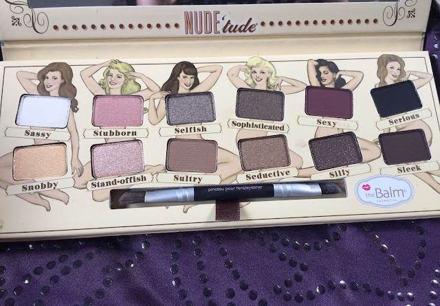 theBalm Nude'Tude Palette Shades
