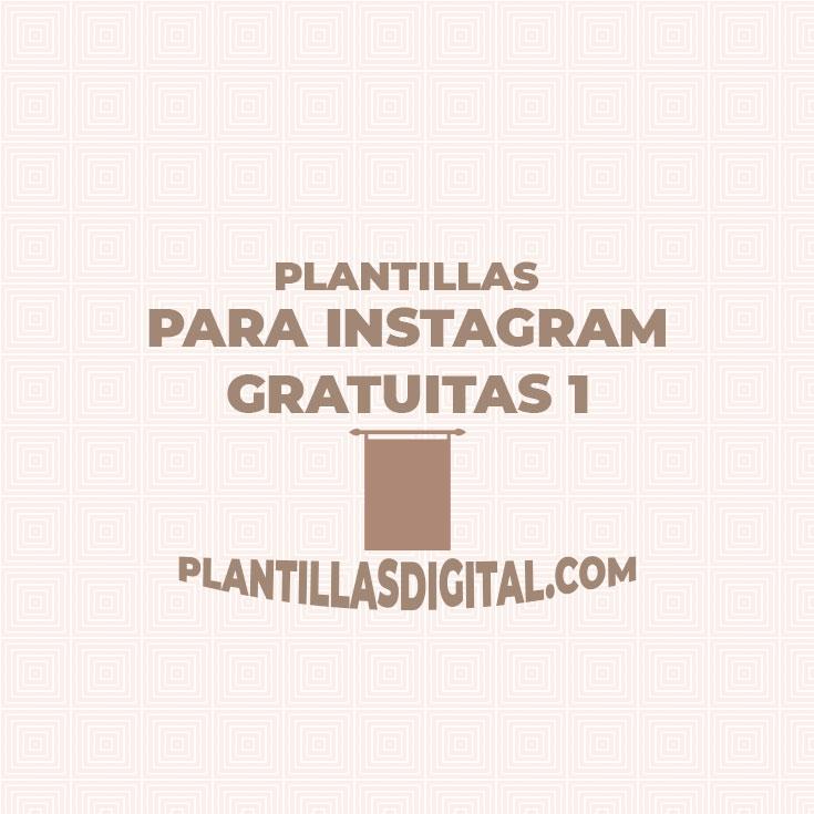 plantillas para instagram gratuitas 1