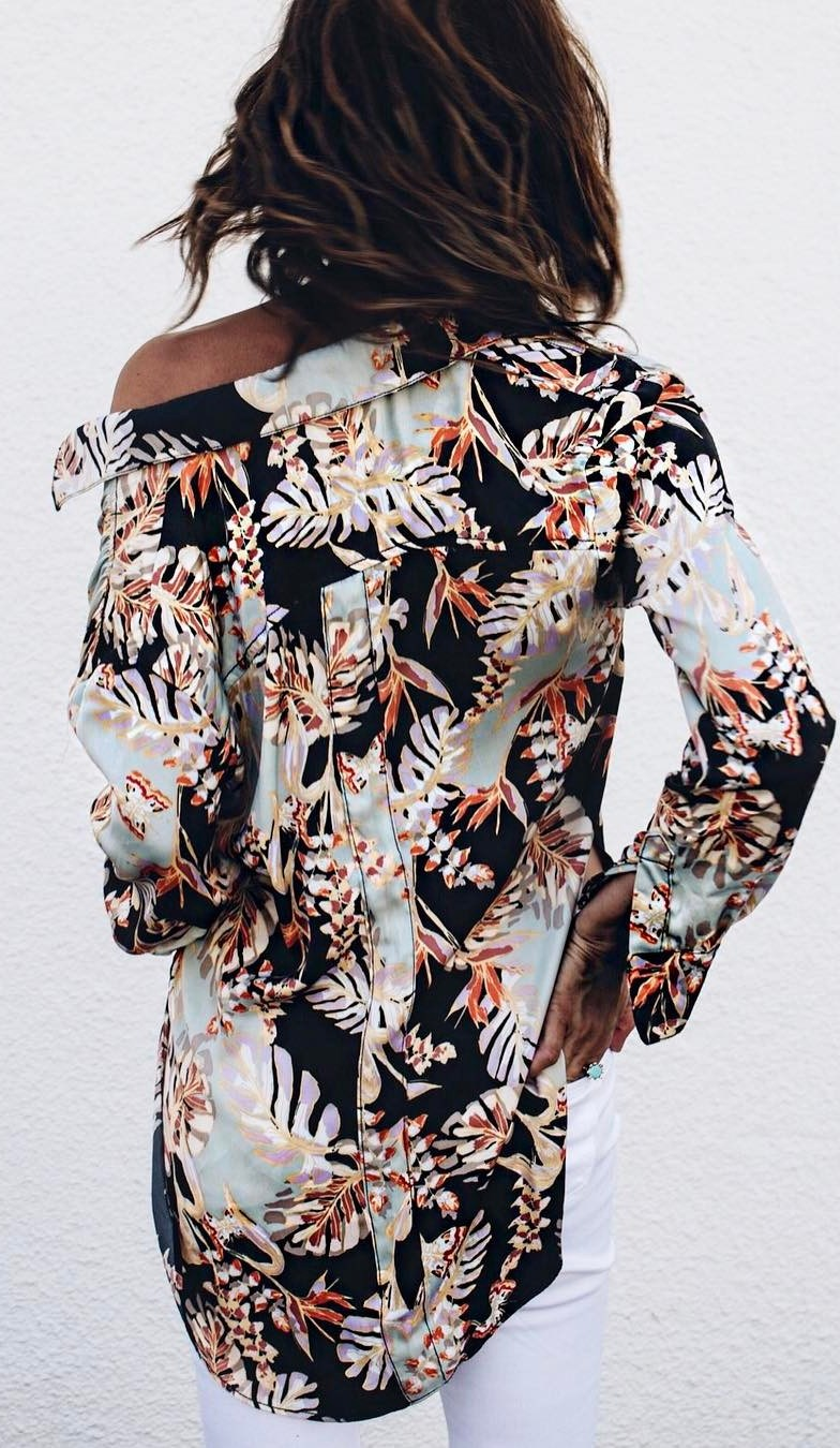beautiful printed shirt