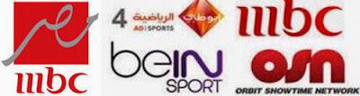 nilesat-arabic-osn-bein sport iptv playlist