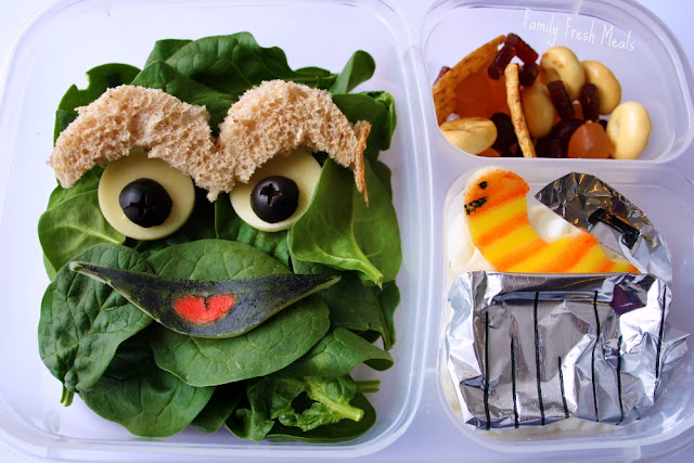 Oscar the Grouch & Slimy lunch box