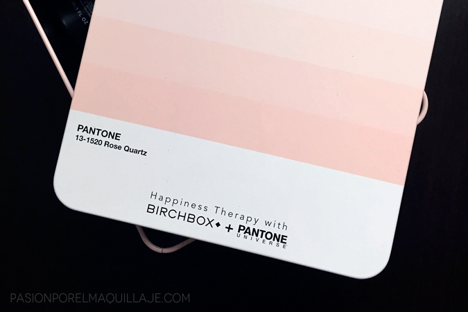 Birchbox+Pantone