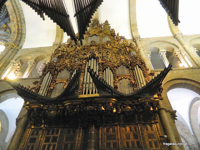 Órgão da Catedral de Santiago de Compostela