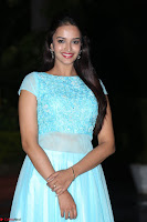 Pujita Ponnada in transparent sky blue dress at Darshakudu pre release ~  Exclusive Celebrities Galleries 107.JPG