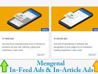 Mengenal Tentang Iklan In-Feed Ads & In-Article Ads | Cara Memasangnya Di Blog