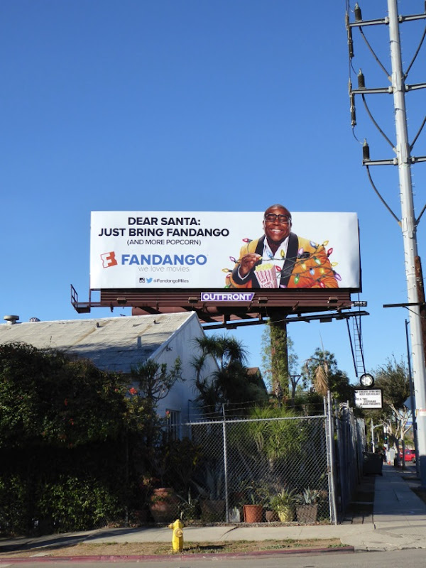 Fandango Christmas lights Miles Mouvay billboard