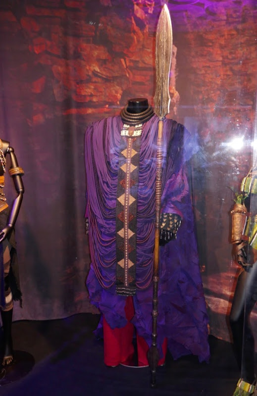 Zuri Black Panther film costume