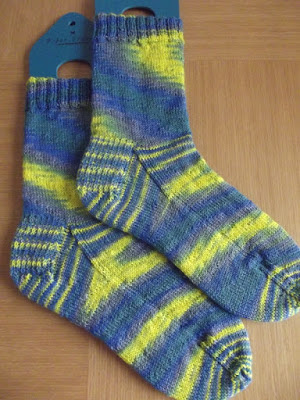 Through The Keyhole Sock Knitting Tips
