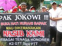 Tolak PP 49 Tahun 2018, FHK2I Minta Pemerintah Buat Aturan Khusus Untuk Honore K2