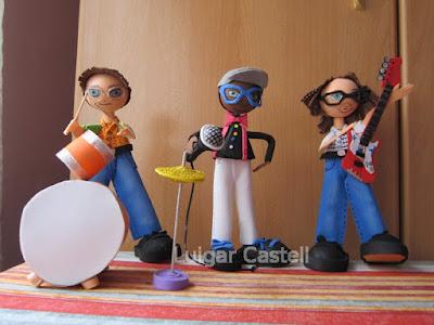 Muñecos músicos