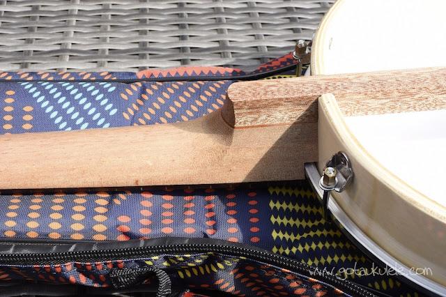 Duke 10 Banjo Ukulele neck heel