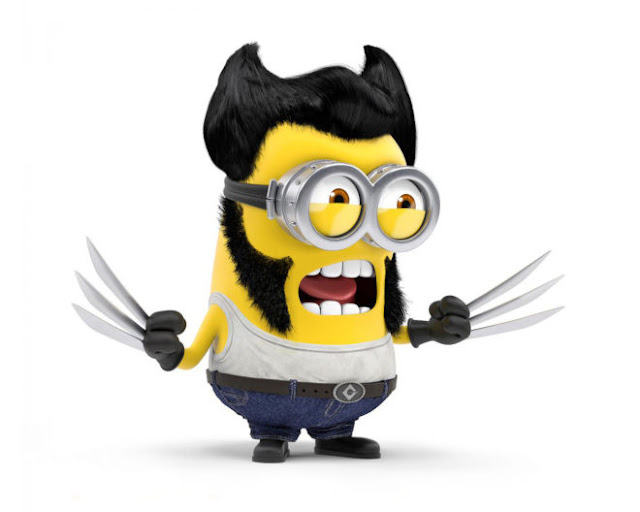 Angry Cute Minion X Man HD Wallpapers