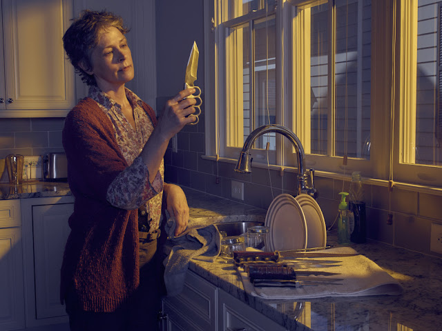 Melissa McBride como Carol Peletier – The Walking Dead _ temporada 6, Gallery – Photo Credit: Frank Ockenfels 3/AMC