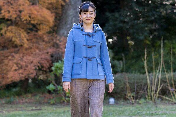 Princess Kako wore BMING by BEAMS coat. Crown Prince Fumihito and Crown Princess Kiko. Emperor Akihito and Empress Michiko