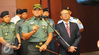 Komitmen Panglima TNI Berantas Korupsi : Kita Bekerja Senyap Berantas Korupsi