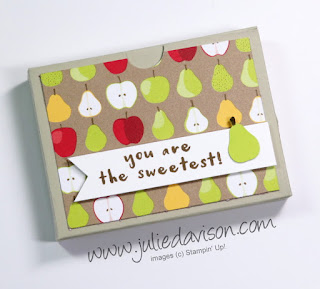 VIDEO: Tutti Frutti Mini Box Tutorial ~ Stampin' Up! Fruit Basket Bundle ~ 2018 Occasions Catalog ~ www.juliedavison.com