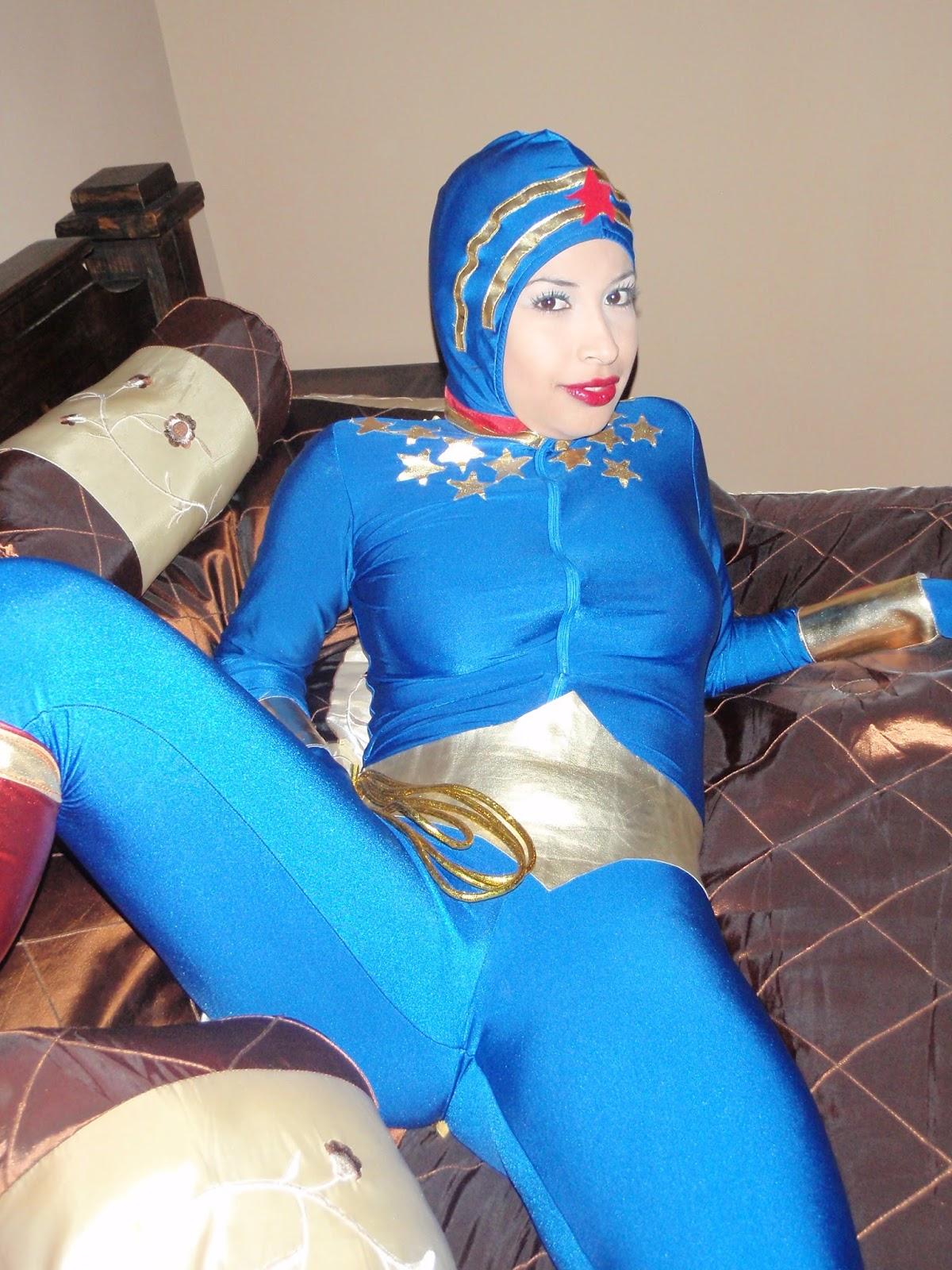 Wonder Woman Costumes Wonder Woman Underwater - Blue -1019
