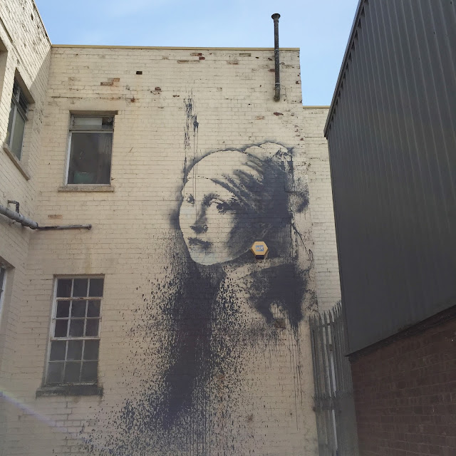 Banksy's Girl With A Pearl Earring
