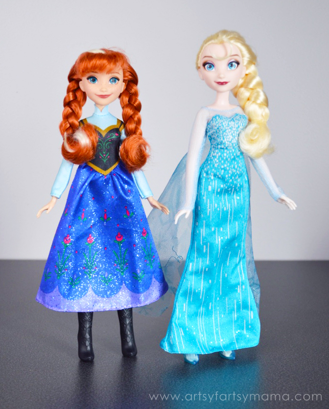Frozen Movie Party Ideas at artsyfartsymama.com
