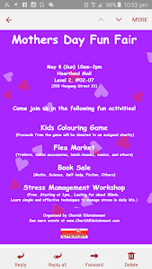 Mother's day Fun Fair