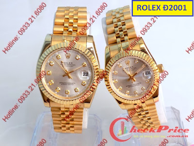 Đồng hồ đeo tay cặp đôi Rolex RL Đ2001