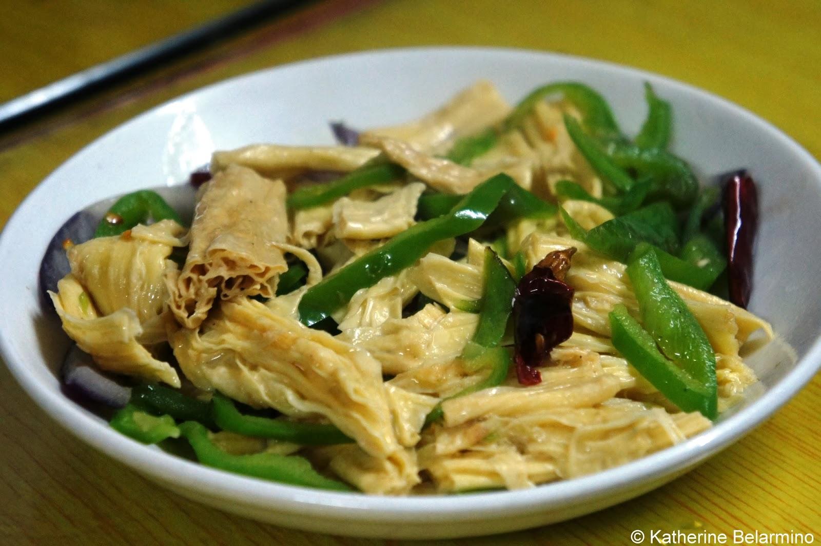 Dried Tofu Street Tour Shanghai China