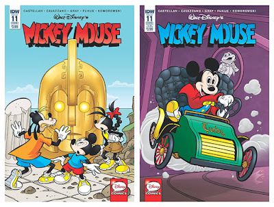 IDW's Mickey Mouse #11 (320) - regular and subscription covers