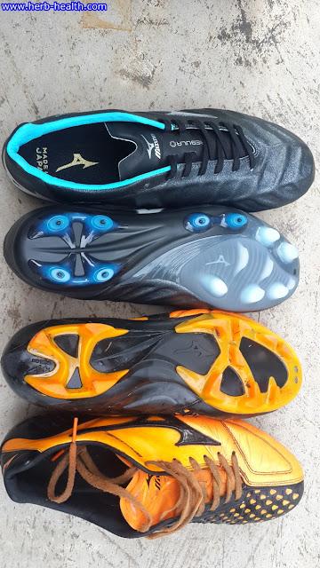 เทียบพื้นรองเท้าสตั้ด V1 และ IG4