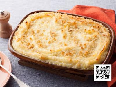 طريقة تحضير صينية بطاطس وباذنجان بالجبنة Chinese potato with cheese
