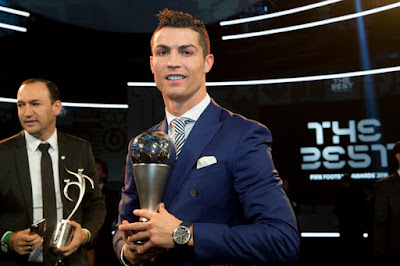 Real Madrid star Cristiano Ronaldo named FIFA Best Men's Player of Year award (SEE FULL LIST)