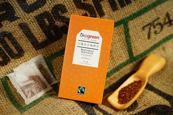 生態綠南非國寶茶柑橘口味。