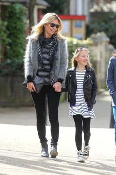 Kate Moss & Lila Grace  | Twinning | Chichi Mary Blog