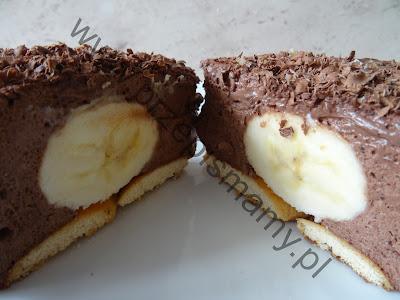 """Ciasto """"Obłoczek bananowy"""""""
