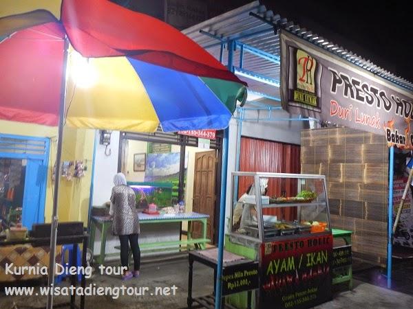 tempat pesan cathering di dieng wonosobo