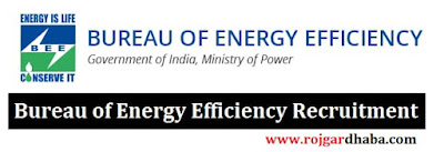 Bureau of Energy Efficiency Jobs