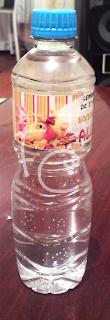 Garrafas d'água Personalizadas - Baby Pooh
