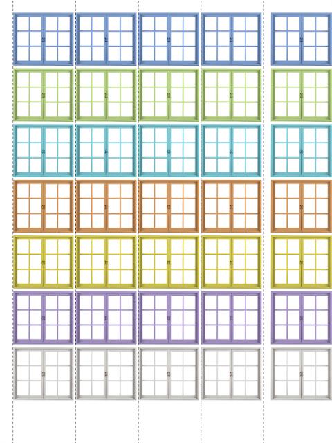 Состав числа до 10 домики, распечатать картинки и карточки