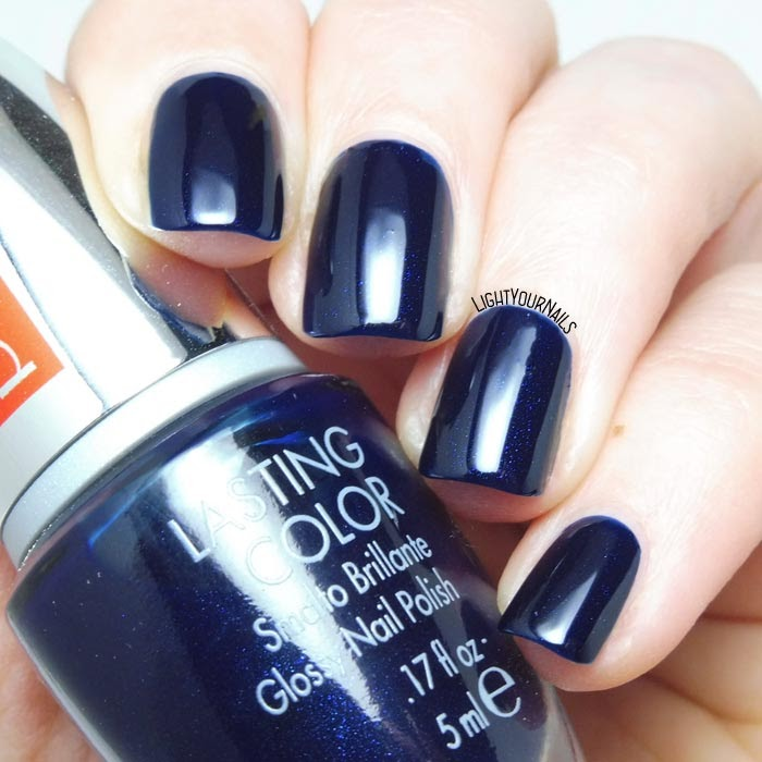 Pupa 702 Midnight Blue | Light Your Nails!