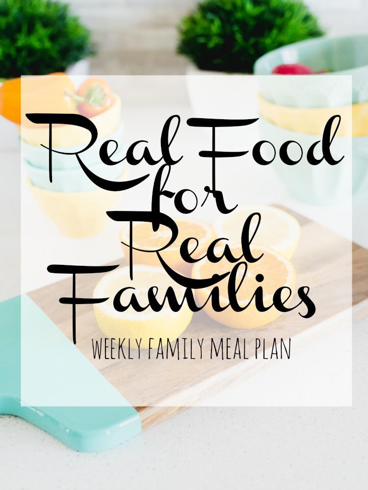 easy family meal plan 2018 week 5