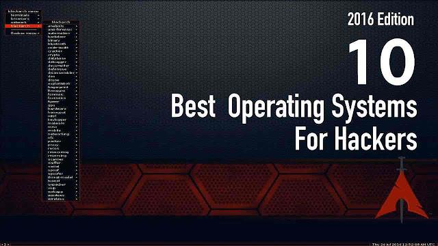 أفضل 10 أنظمة التشغيل لالقرصنة اختبار الاختراق | fossBytes 2016