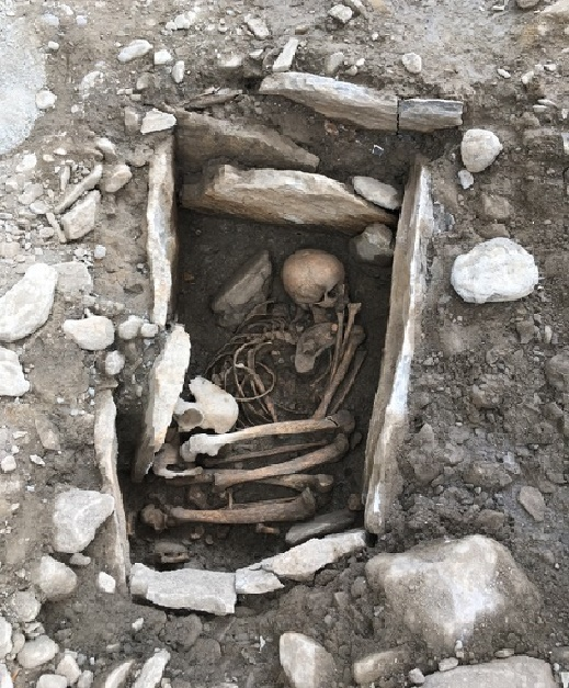7,000 year old human remains discovered in Swiss city