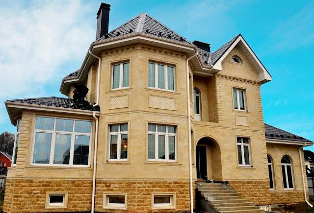 Дом в Крыму под ключ из ракушки