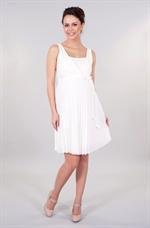 059c6c55dfb0 Er du mere til en lang smuk elegant model - er der denne lange elegante  ammekjole  ventekjole måske lige dig