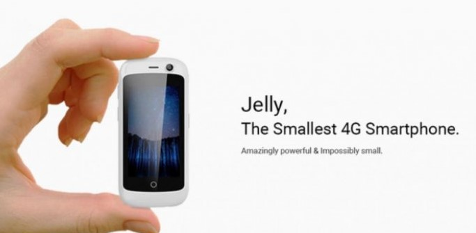 Jelly Smartphone Android Kecil