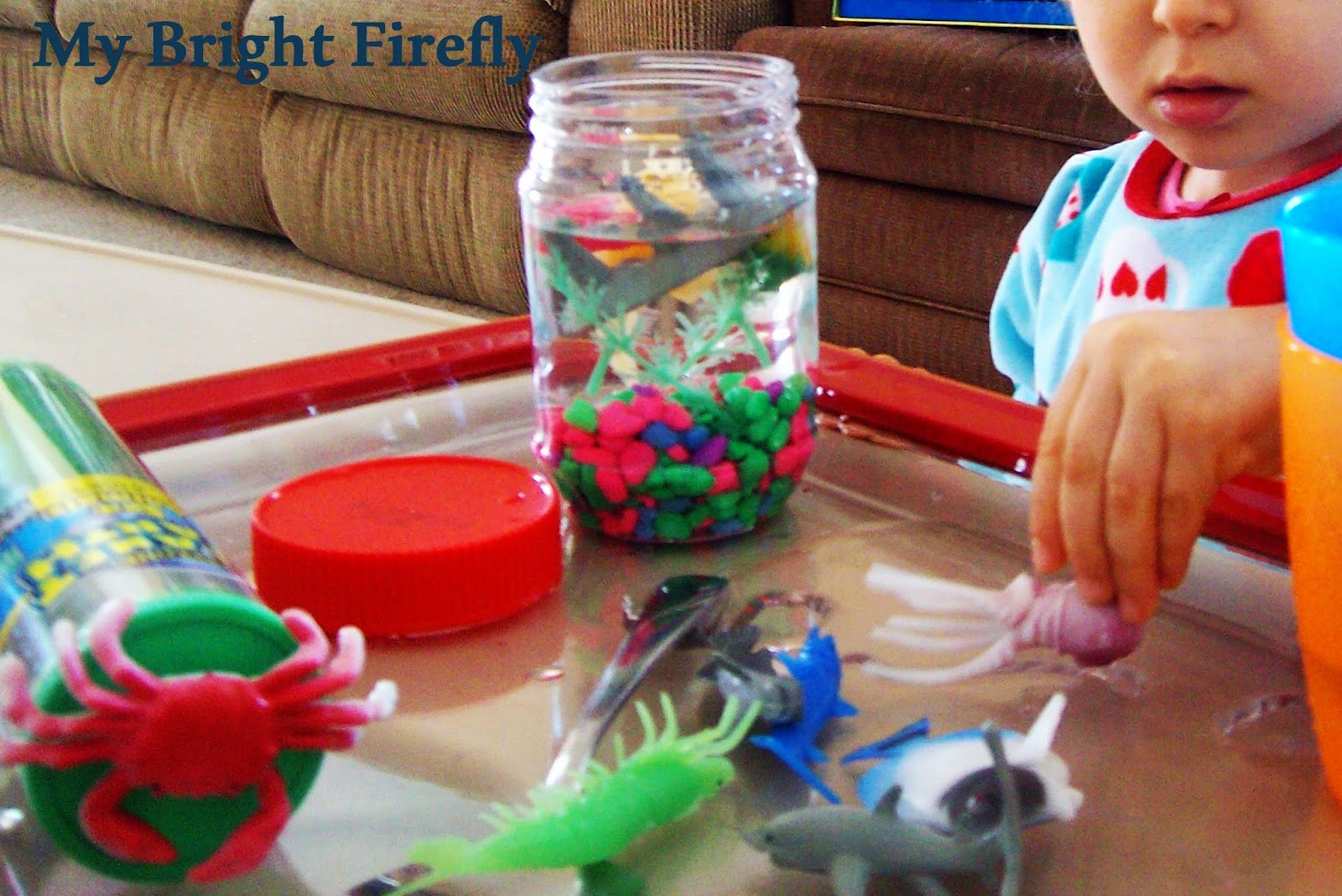 My Bright Firefly Rainbow Fish Crafts And Play For Toddlers