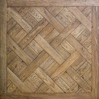 Seed Pod Old Section Parquetry Floor