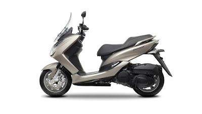 2016 New Scooter  Peugeot Satelis 125cc side view image