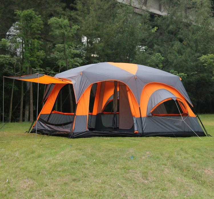 Tenda Luxury Casa Casetta Grande Veranda Campeggio Camper