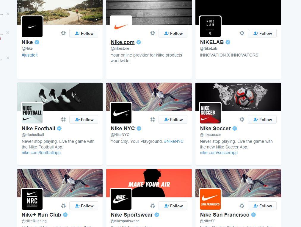 Nike Utilisation Des Médias Sociaux